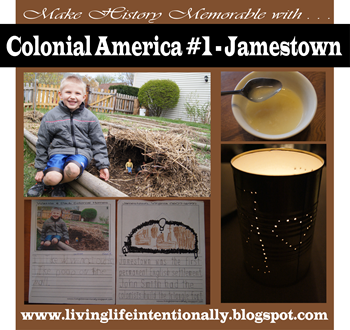 Colonial America Unit Study - Jamestown Settlement