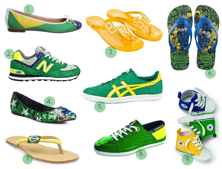 sapatos cor brasil copa 2014