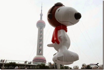 Snoopy Shanghai Balloon 04 (via Chinadaily)