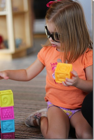 Isn't this how you dress to play blocks?