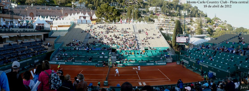 Monte-Carlo Country Club Central Court, 18-4-12