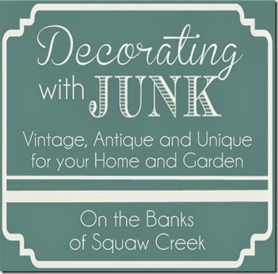 decorating with junk