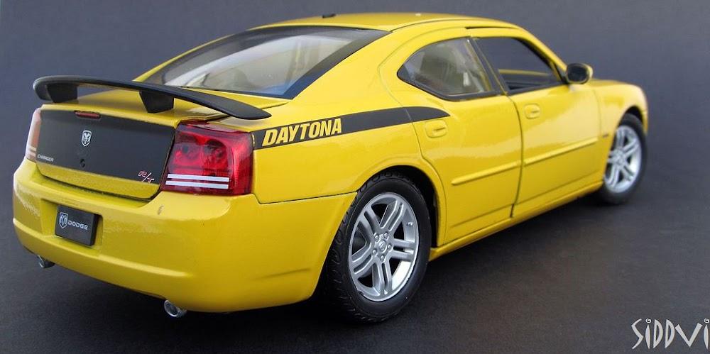 1:18 - 2006 Dodge Charger Hemi Daytona R/T - DX Muscle ...