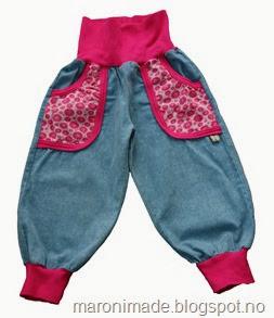 bukse med rosa lommer - ikke publisert