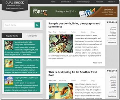 DualShock-Blogger-Template