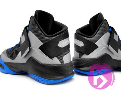 nike zoom soldier 6 gr grey black blue 1 05 Upcoming Nike Zoom Soldier VI (6) Wolf Grey/Black Photo Blue
