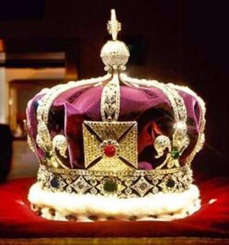 Corona Imperial de la India - joyas del Reino Unido