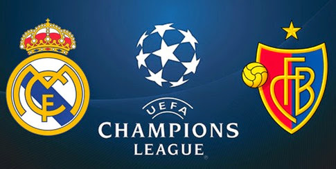 Partido Real Madrid vs Basilea en Vivo - Champions League