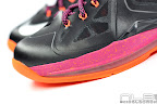lebron10 floridians 12 web white The Showcase: Nike LeBron X Miami Floridians Throwback