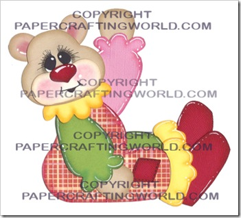 cricut svg bear clown girl 350