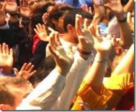 orando e agindo