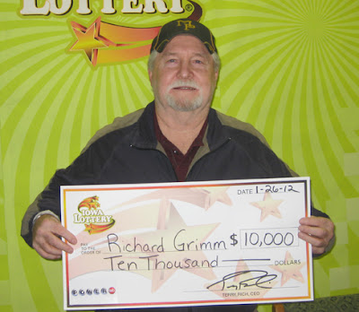 Photo courtesy:  Iowa Lottery