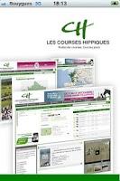 Screenshot of Courses Hippiques Vidéos