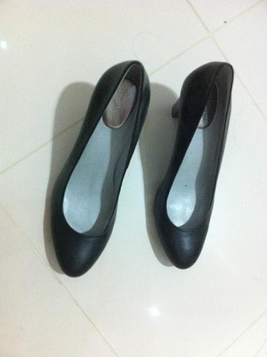 Sapato scarpin calvin klein preto