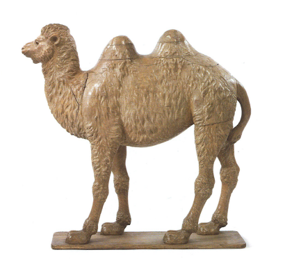 I asked Martha for a camel for my 40th birthday–I'm still waiting, but this wooden specimen on auction at Sotheby's would make a nice addition to my apartment (sothebys.com)