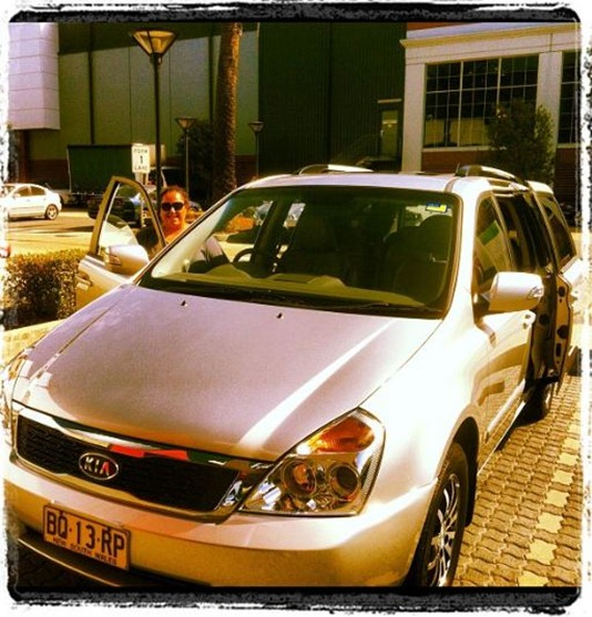 Kia Carnival Pick Up