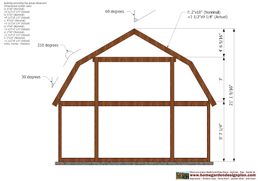 Tractor And Implement Shed Plans 73461 Ampicishuzney