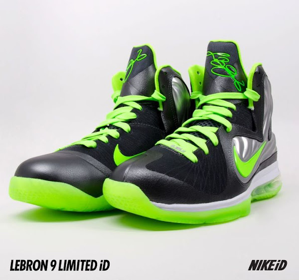 Nike LeBron 9 iD 20 New Samples Dunkman Knicks