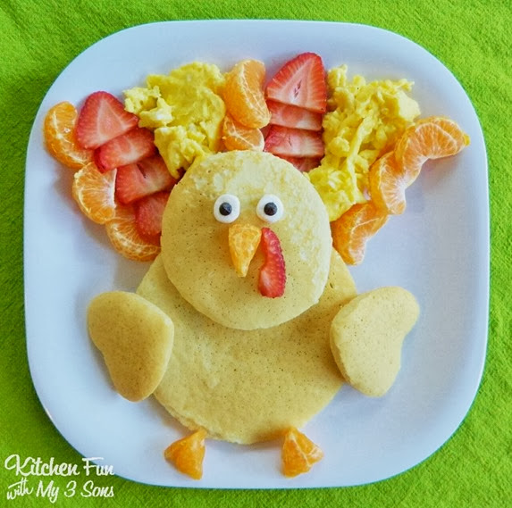 Thanksgiving Turkey Pancakes  _PM