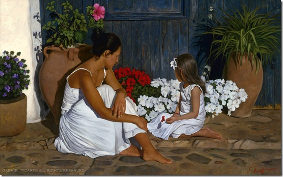 Mother y Child-Gabriel Picart