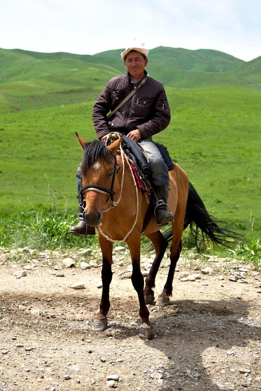 Kyrgyz in ipostaza naturala.