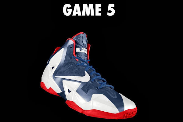 A Decade of Moments  NIKEiD LeBron XI 8220Game Five8221