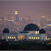 View of Griffith Observatory and LA