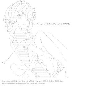 [AA]Kusunoki Yukimura (Boku wa Tomodachi ga Sukunai)