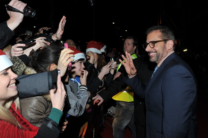 Dublin – 9th December 2013: Steve Carrell attends the Dublin Premiere of Anchorman 2 – Credit: Clodagh Kilcoyne for Paramount Pictures International via Getty Images