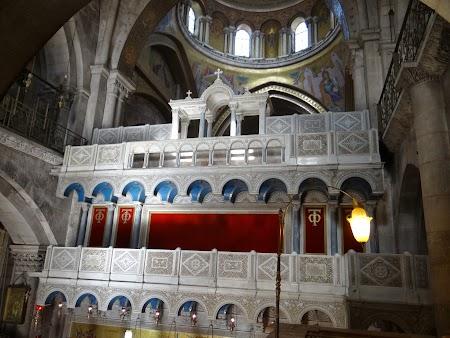 Altar Biserica Sfantului Mormant Ierusalim