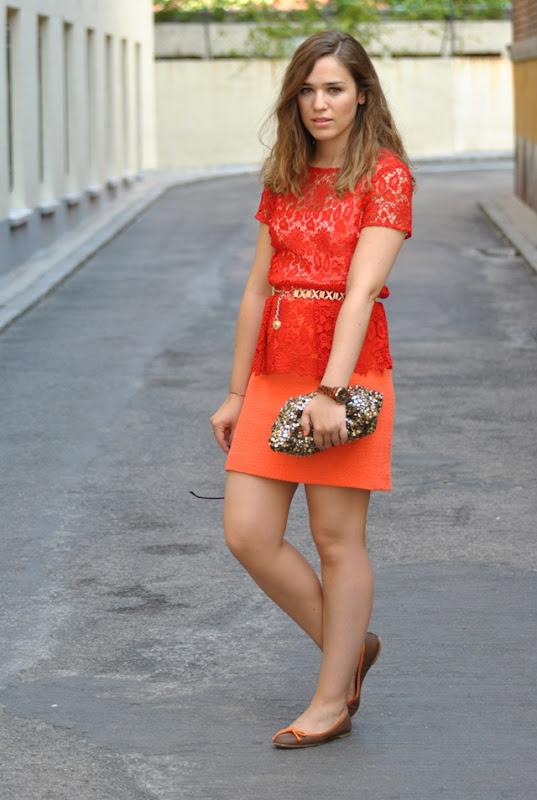 Orange/ Red