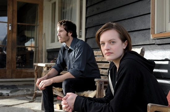Thomas M Wright and Elisabeth Moss in BBC Top of the Lake