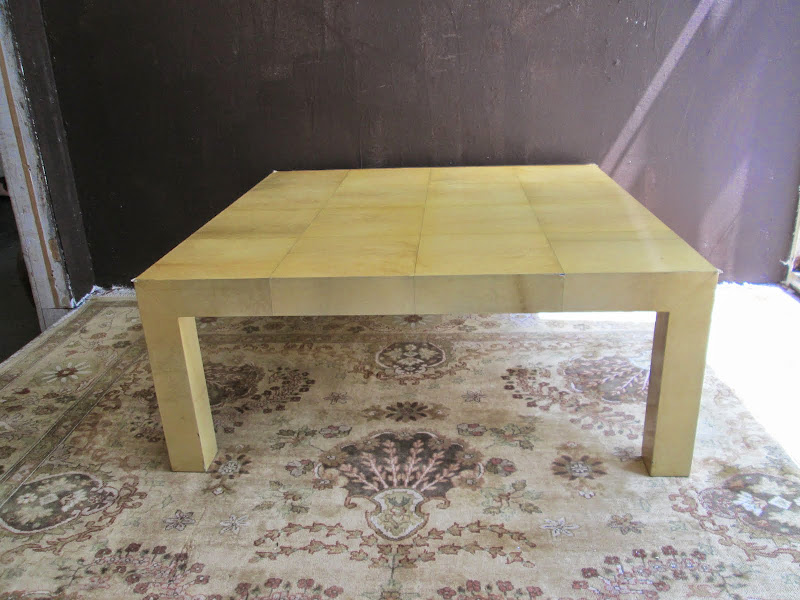 Parchment Coffee Table