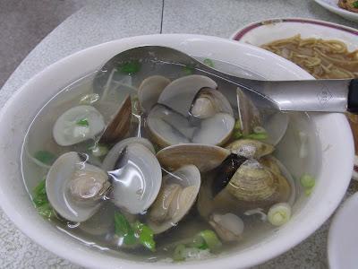 蛤湯。おいしー。