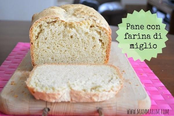 pane con farina di miglio macchina