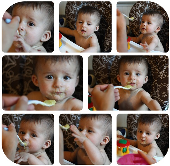 eating collage