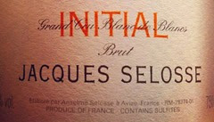 De Jacques Selosse, Initial, 100% chardonnay fermentado en barrica y batonaje sin argón