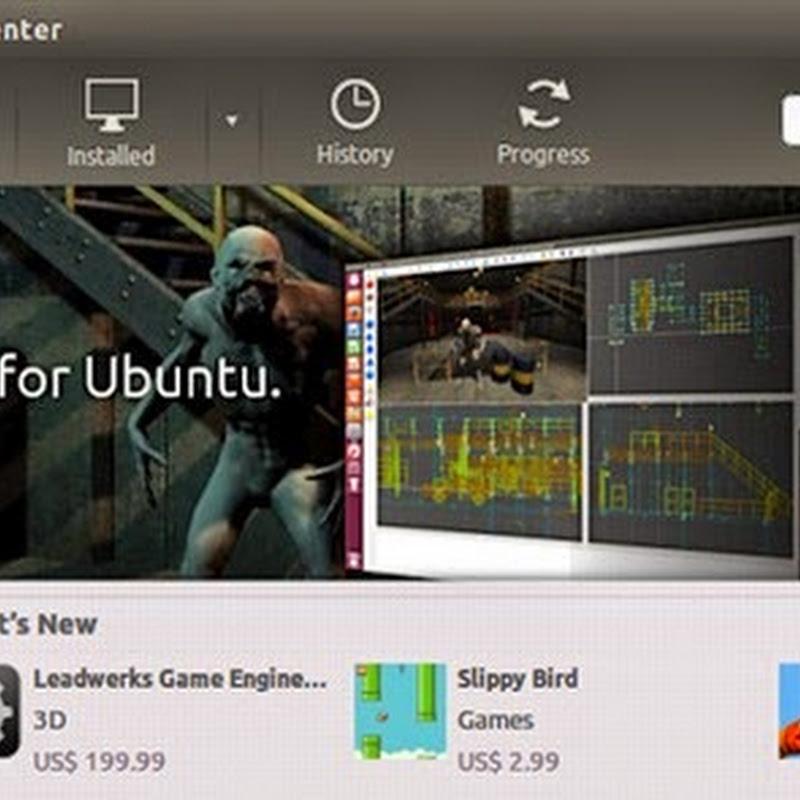 Leadwerks con la tecnología OpenGL 4.0 disponible en el Centro de Software de Ubuntu.