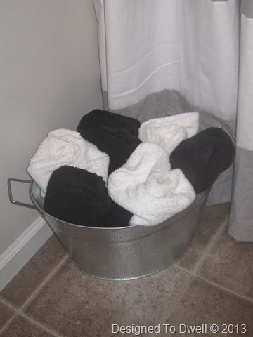 Bucket of Towels