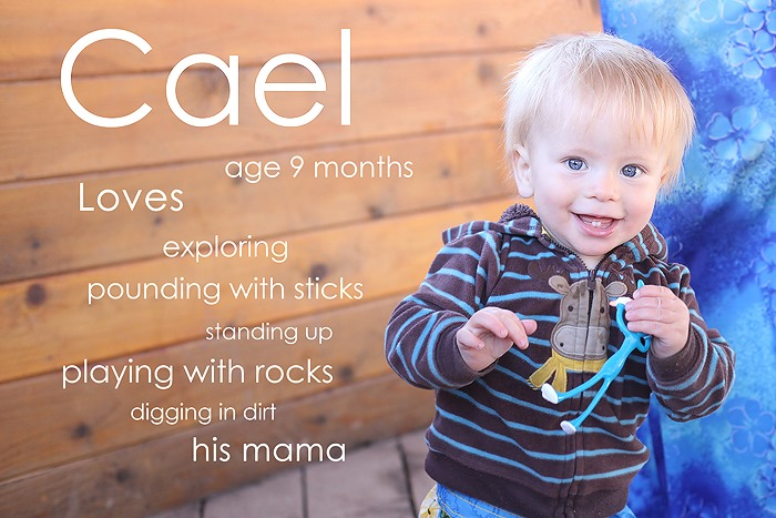 Cael at 9 months by Deirdre O. Keating Photography