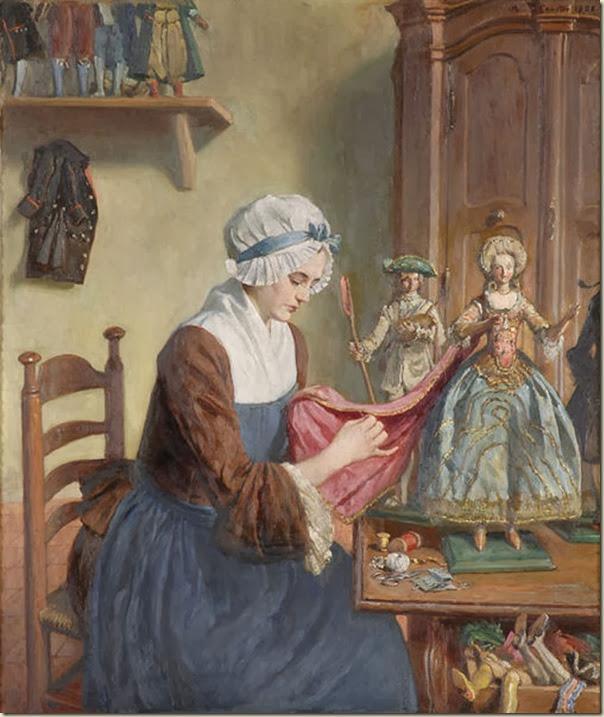 Angelo de Courten, La fabricante  de poupées