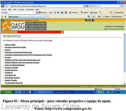 Vincular pregoeiro e equipe de apoio no site comprasnet.gov.br