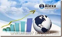 cara daftar blogspot ke alexa