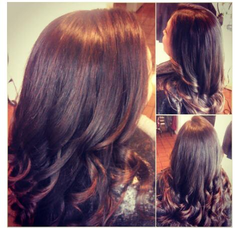 Healthy Hair Is Beautiful Hair Copper Lowlights
