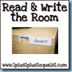 REad & Write the Room Button100