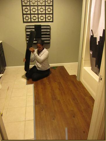 Traffic Master Vinyl Plank flooring
