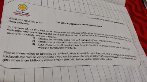 The way we celebrate birthday @ dzulliman