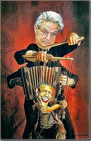 Soros Puppeteer - Obama Puppet