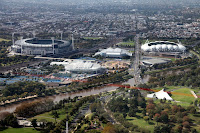 MCG and Melbourne Park tennis centre