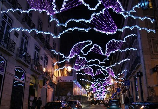 Portugal - Lisboa - Natal 2010 -Rua Garrett - Glória Ishizaka